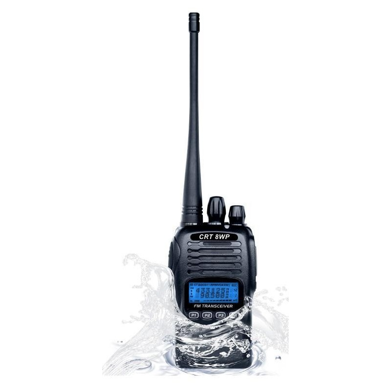 crt 8wp pmr vhf com talky walky professionnel waterproof. Black Bedroom Furniture Sets. Home Design Ideas