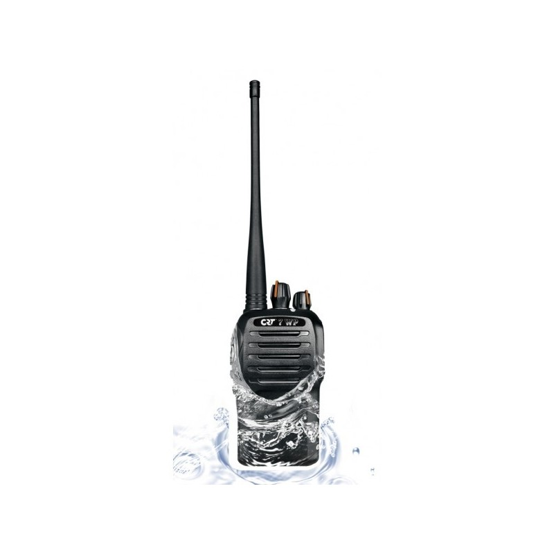 Crt 7wp pmr uhf com talky walky professionel ip67 longue - Talkie walkie professionnel longue portee ...