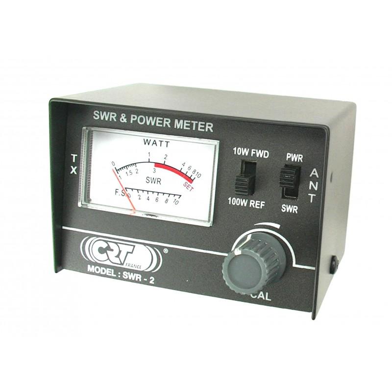 Swr Power Meter : Crt mini tos watt meter swr