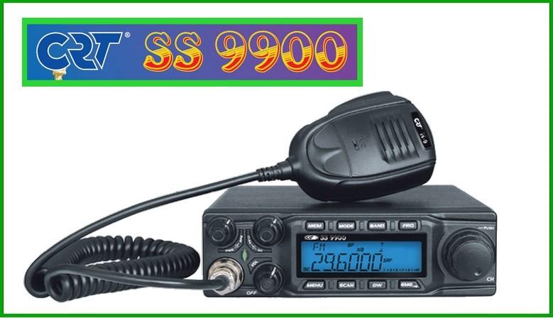 radio amateur CRT SS9900