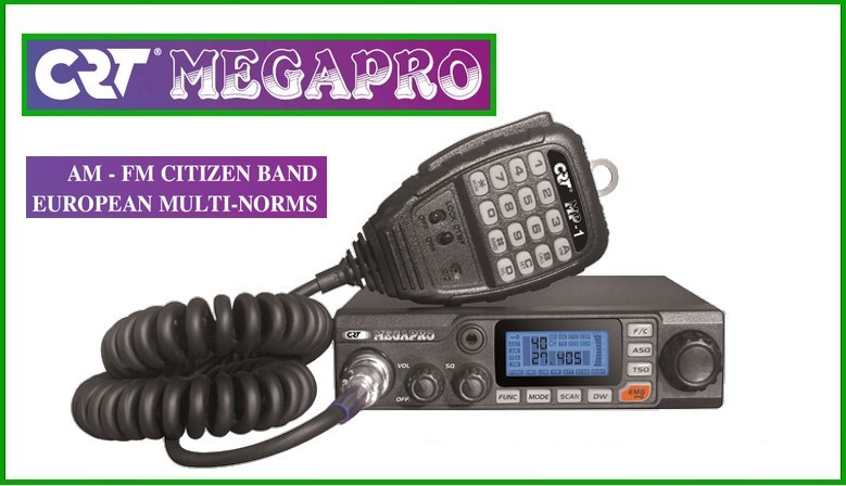 CRT MEGAPRO citizen band