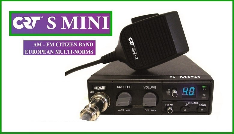 CRT SMINI citizen band