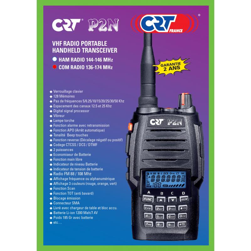 CRT P2N VHF COM