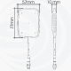INGLASS LTE/WLAN 3M/SMA-M SIRIO