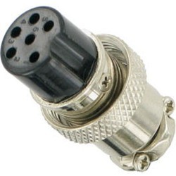 NC 518 MIKE CONNECTOR 6 POL