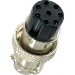 NC 522 MIKE CONNECTOR 8 POL